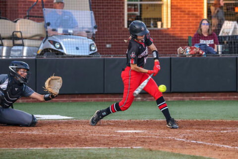 Missed chances hurt Austin Peay State University Softball in OVC Championship opening round against Eastern Kentucky. (APSU Sports Information)