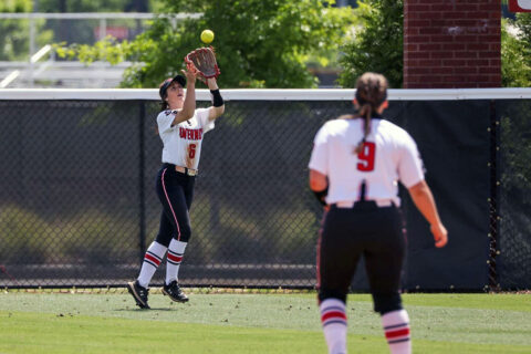 Austin Peay State University Softball fall in extra innings to Jacksonville State at the OVC Championship to close the season. (Eric Elliot, APSU Sports Information)