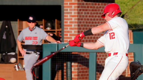 Austin Peay State University Baseball sophomore Jack Alexander had two hits in loss to Eastern Illinois. (Robert Smith, APSU Sports Information)