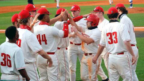 Fifth place Austin Peay State University Baseball takes on fourth-place Jacksonville State this weekend at Raymond C. Park. (Robert Smith, APSU Sports Information)