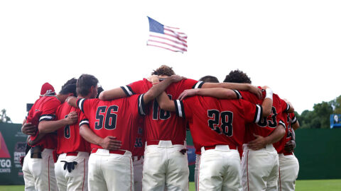Austin Peay State University Baseball falls to Murray State in extra innings 7-6 at the OVC Tournament. (APSU Sports Information)
