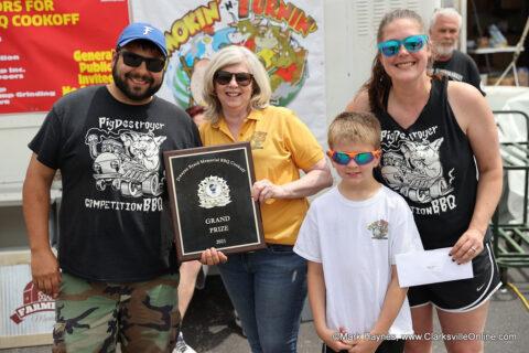 Pig Destroyer was named Hilltop Supermarket's 2021 Dwayne Byard Memorial BBQ Cook-Off Grand Champion.