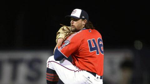 Nashville Sounds Center Fielder Corey Ray robs Jonathan Lucroy of a Home Run in 2-1 Game. (Nashville Sounds)