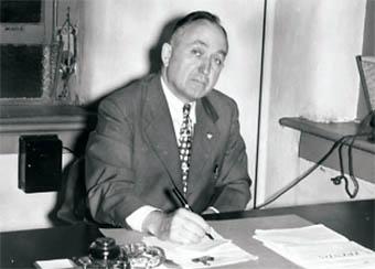 APSC President Halbert Harvill