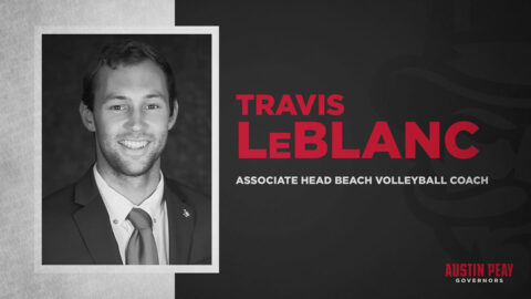 LeBlanc promoted to Austin Peay State University associate head beach volleyball coach. (APSU Sports Information)