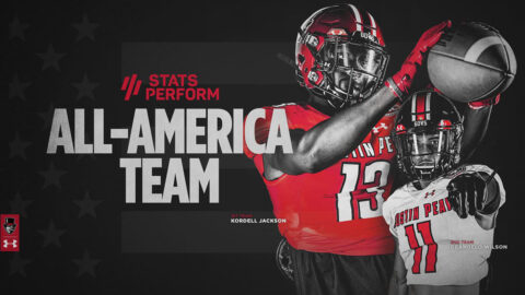 Austin Peay State University Football's Kordell Jackson, DeAngelo Wilson earn Stats Perform FCS All-America teams honors. (APSU Sports Information)