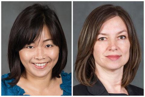 Austin Peay State Univesity professors (L to R) Kathy Lee Heuston and Karen Bullis. (APSU)