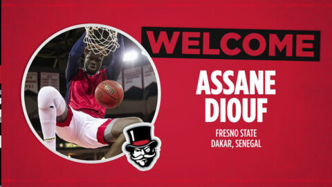 Austin Peay State University Men's Basketball signs Assane Diouf. (APSU Sports Information)