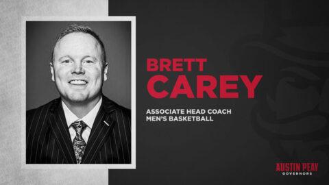Austin Peay State University Men's Basketball brings Brett Carey onboard. (APSU Sports Information)