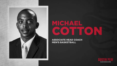 Michael Cotton first addition to Austin Peay State University men's basketball staff. (APSU Sports Information)