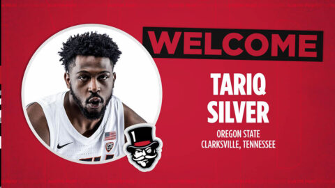 Former Northwest High School star Tariq Silver joins Ausitn Peay State University Men's Basketball team. (APSU Sports Information)