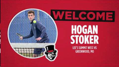 Austin Peay State University Men's Tennis adds Hogan Stoker to roster for 2021-22 season. (APSU Sports Information)