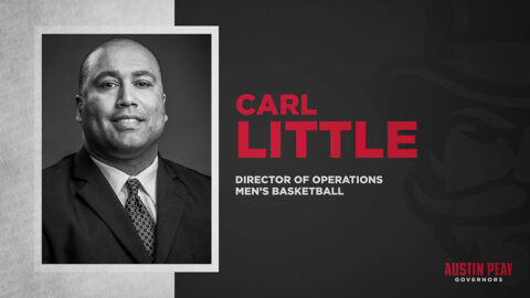 Carl Little added to Austin Peay State University Men's Basketball as Director of Operations. (APSU Sports Information)