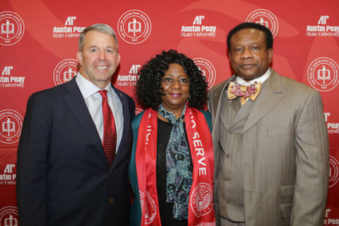 Austin Peay State University Military Alumni Chapter announces Mrs. Joyce Luster Scholarship endowment. (APSU)