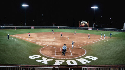 Austin Peay State University Softball takes on Eastern Kentucky Thursday at the OVC Championship being held at Choccolocco Park in Oxford, AL. (APSU Sports Information)