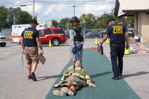 Clarksville Fire Rescue will host practice dates for the agility test.