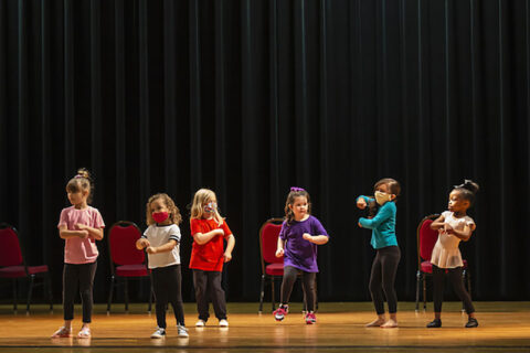 Dance recital at the Community School for the Arts (CSA) at Austin Peay State University. (APSU)
