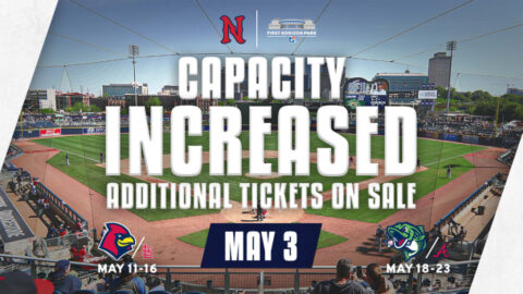 First Horizon Park to Operate Near 40% Capacity for First Three Home Games. (Nashville Sounds)