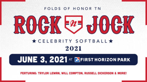 Rock-N-Jock Celebrity Softball Game to be played at First Horizon Park on June 3rd.