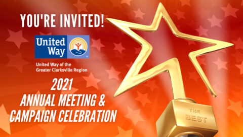 United Way of the Greater Clarksville to hold Annual Meeting and Campaign Celebration, July 14th