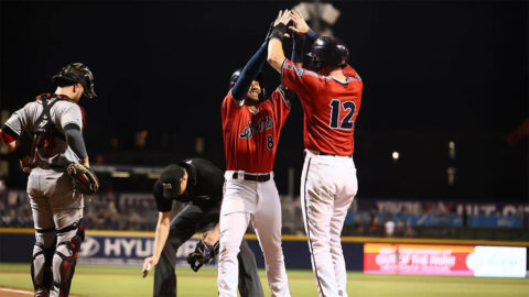 Nashville Sounds' Jamie Westbrook and Tim Lopes Drill Back-to-Back Homers in Win over Indianapolis Indians. (Nashville Sounds)