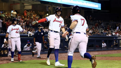 Nashville Sounds Come Back From a 3-1 Deficit to beat Indianapolis Indians. (Nashville Sounds)