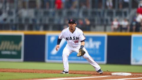 Nashville Sounds infielder Keston Hiura  Had His First Multi-Homer Game of the Season. (Nashville Sounds)