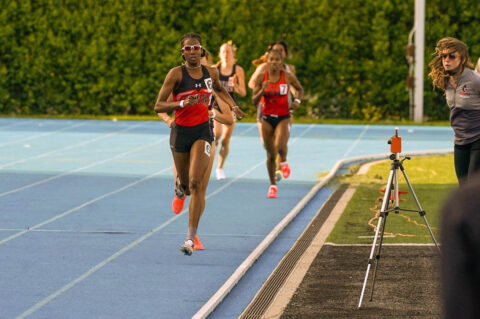 Austin Peay State University Track and Field's Mikaela Smith is the Virgin Islands National Champion in the 800-meter dash. (APSU Sports Information)