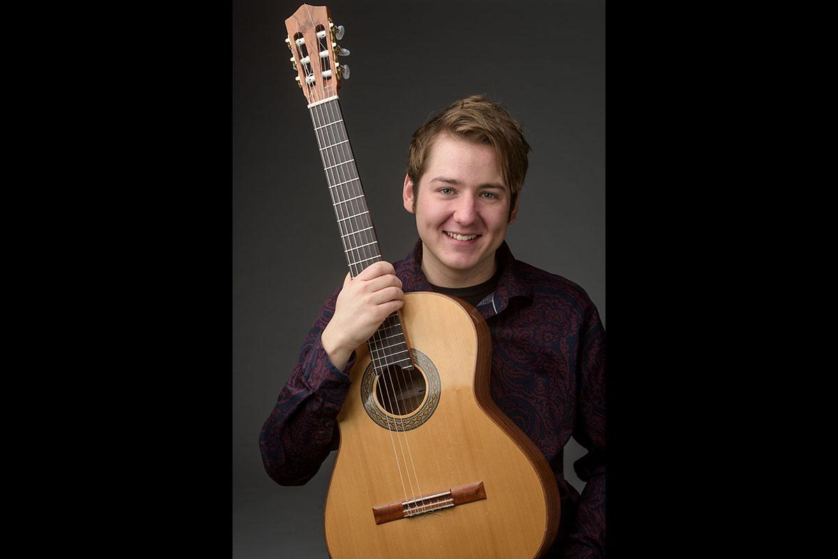 Austin Peay State University music education graduate student Tyler Spuzzillo. (APSU)