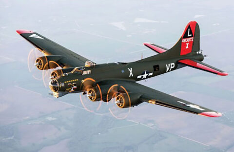 B-17 Flying Fortress Texas Raiders