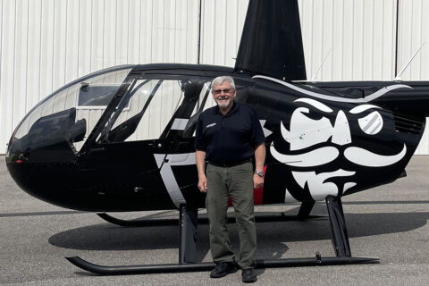 Donald Stanton is the first Designated Pilot Examiner for the Clarksville Regional Airport.