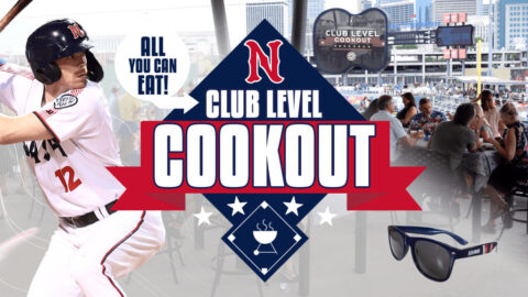 Great American Club Level Cookout Exclusive Offer Available for July 3rd and 4th Games. (Nashville Sounds)