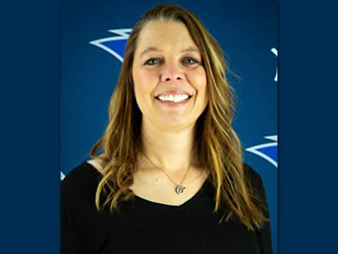 Clarksville Christian School Head Volleyball Coach and  Assistant Director of Athletics Jennifer Lawrence.