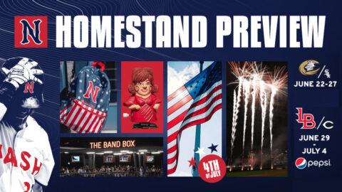 Highlights Include Multiple Giveaways, Fireworks Shows and Independence Day Celebration. (Nashville Sounds)