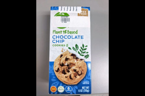 Simple Truth Plant-Based Chocolate Chip Cookies are being recalled due to undeclared Dairy Allergen.