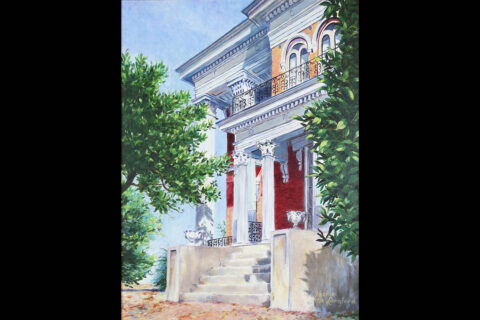 Smith-Trahern Mansion by Jackie Langford
