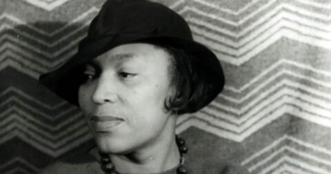 Zora Neale Hurston, circa 1938, from the Carl Van Vechten Collection held by the Library of Congress.