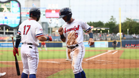 First Time Nashville Sounds have lostg Consecutive Home Games Since June 12th and 13th. (Nashville Sounds)