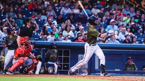 Huge Inning Sends Louisville Bats Past Nashville Sounds in Game Five. (Nashville Sounds)