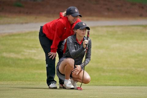 Austin Peay State University Women's Golf athletes Riley Cooper, Kady Foshaug receive WGCA All-American Scholar honors. (APSU Sports Information)