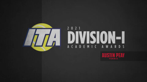 Both Austin Peay State University Tennis Teams receive academic recognition. (APSU Sports Information)