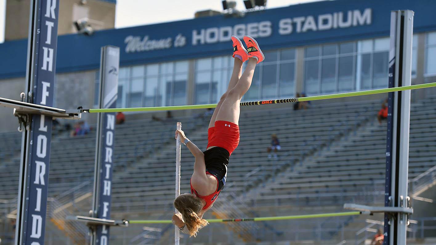 Austin Peay State University Women's Track and Field's Karlijn Schouten. (APSU)