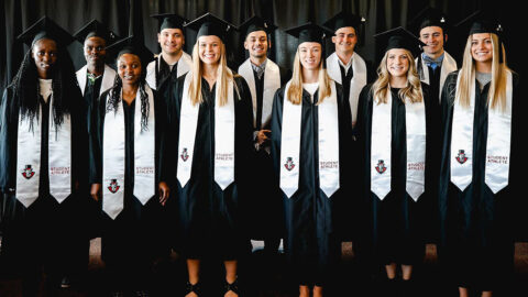 Austin Peay State University Athletics receives NCAA Accelerating Academic Success Program initiative grant for 2021-22 academic year. (APSU Sports Information)