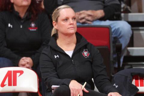 Austin Peay State University head volleyball coach Taylor Mott. (APSU Sports Information)