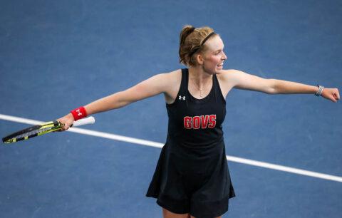 Austin Peay State University women's tennis graduate Fabienne Schmidt. (APSU Sports Information)