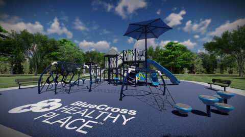 BlueCross Healthy Place at Woodlawn Park