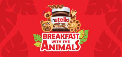 Breakfast with the Animals, presented by Nutella®. (Nashville Zoo)
