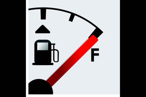 Gas Gauge. (AAA)