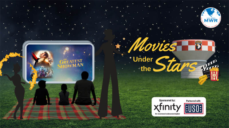 MWR's Movies Under the Stars to show