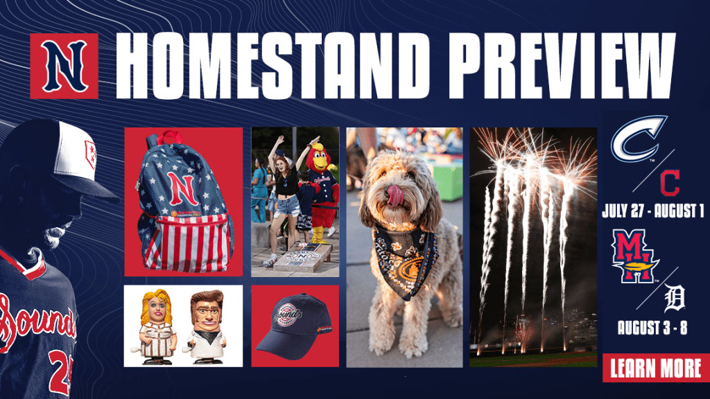 Nashville Sounds Homestand Highlights Include Fireworks Shows, Stand Up To Cancer Night and Multiple Giveaways. (Nashville Sounds)